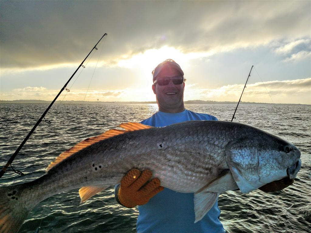 Fishing for redfish from jekyll island st simons island for Fishing trips in georgia