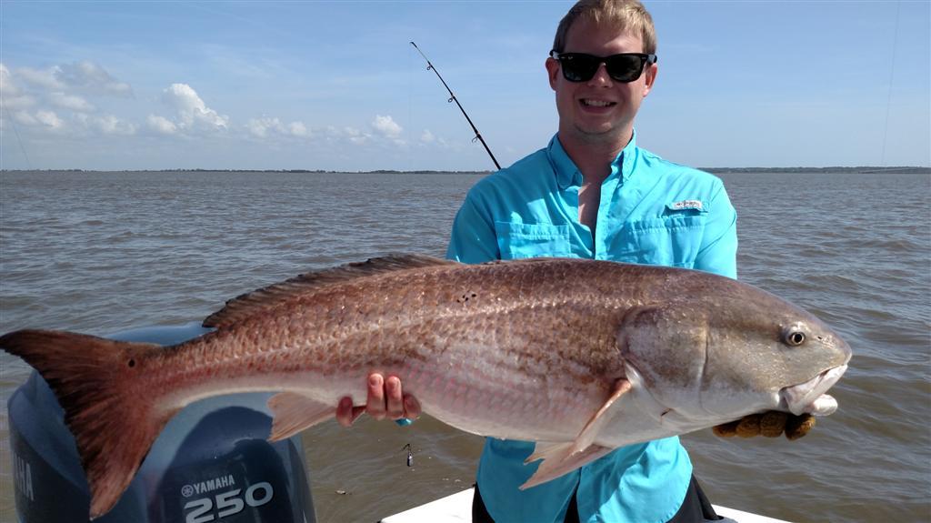 Jekyll Island Fishing Charters for Redfish