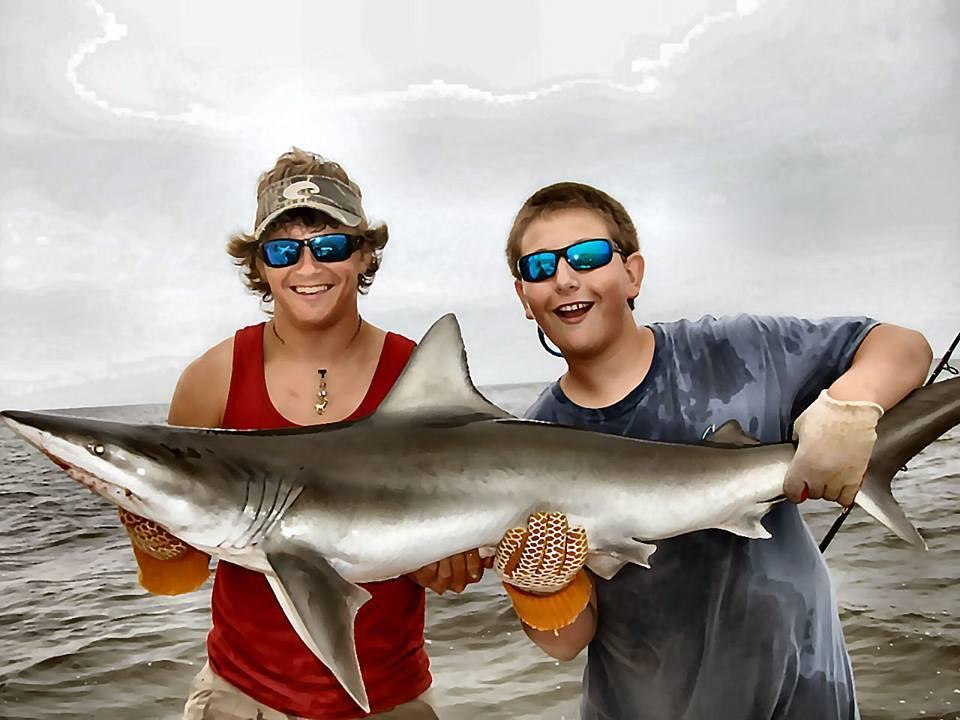 Fishing charters on st simons island georgia for Shark fishing charters