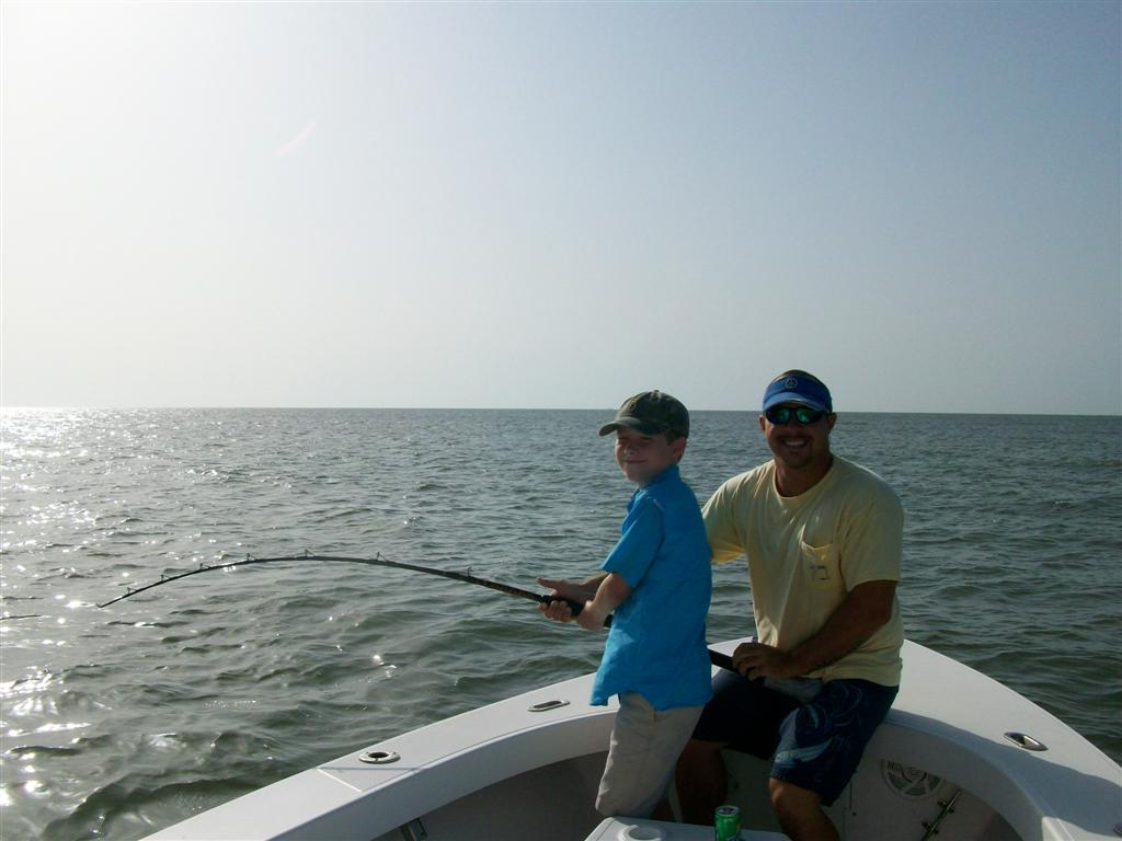kids fishing charters from st simons island georgia
