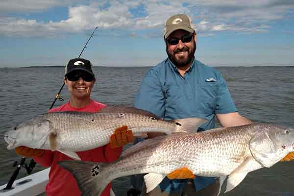 Jekyll Island Georgia Fishing Charters for Redfish